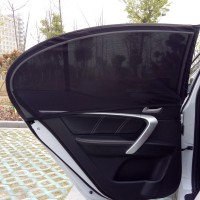 Easy to Install Car Door Window Sunshade Mesh Protection from Sun and Insects, Mosquitos, Dust Protection